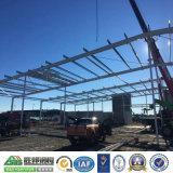 Costruzione prefabbricata d'inquadramento d'acciaio modulare della pianta del workshop
