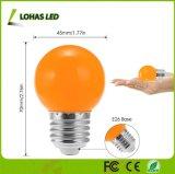 Светодиодные лампы оранжевого цвета 1.5W ГЛОБУС E27 крошечных G14 лампы для елки орнамент с матовой корпус