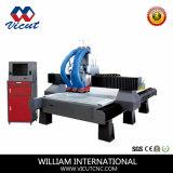Гравировальный станок CNC низкой цены для древесины, acrylic, металла с автоматическим изменением шпинделя