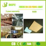 Material usado de la luz del blanco/del panel de Dimmable LED del marco de la hebra buen con la eficacia alta 40W 110lm/W con EMC+LVD