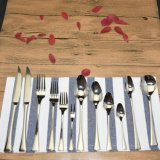 Qualitäts-Melamin-Edelstahl-Kind-Tischbesteck-Set