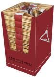 Proveedor auditados Lindon Wholesale perchas de madera color natural