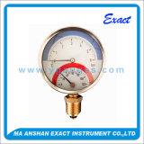 Mesure de pression et de la température, thermomètre et manomètre