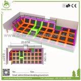 Парк Trampoline прочного превосходного высокого качества крытый