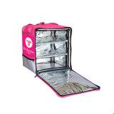 2018 Mochila comercial de la entrega de alimentos de la bolsa de enfriador de almuerzo con los racks