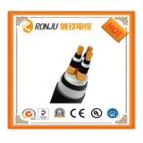 3c+1c Cu/XLPE/Sta/PVC 강철 테이프 기갑 3X240mm2 XLPE 절연제 고압선
