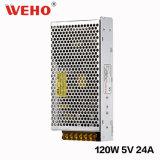 Boîtier en aluminium 110V /220V AC à 5 V CC 120W SMPS