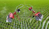 絶頂ガソリン小型水田の除草機フィールド除草機