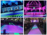 100pixel 아크릴 디스코 결혼식 훈장 사용 LED 영상 댄스 플로워 도와