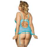 شفّافة يطرق شريط [ببدولّ] [سليبور] ملابس داخليّة مثير لأنّ نساء سمين