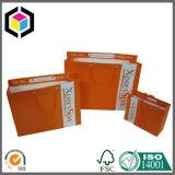 Sacchetto di acquisto di promozione del documento della stampa di colore completo con la maniglia del cotone