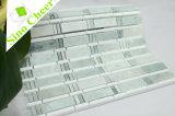 Thassosの白い大理石の規則的な単連続写真のタイルとのデザインMingの最も新しい緑