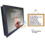 開いたフレームUSB RS232ポート(MW-261MET)が付いている26インチのタッチ画面LCDのモニタ