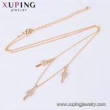 44277 Vrouwen Neckalce van de Kleur van de manier 18K de Gouden met de Halsband van de Juwelen van Bloemen