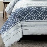 Insieme di tela stabilito dell'assestamento del poliestere del Comforter dell'OEM della Cina del Aqua/jacquard del cotone