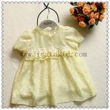 Vestito 100% dal bambino delle ragazze di estate del cotone di Smocked per l'infante