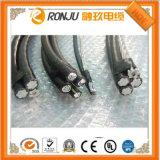 Медный проводник, изолированный PVC, защищаемый заплетать, PVC обшитый гибкий кабель системы управления