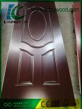 HDFはドアの皮によって薄板にされたメラミンペーパー4mmを形成した