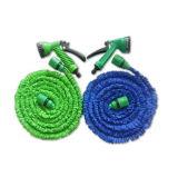 laiton de 25/50/75/100FT ajustant le boyau réglable flexible extensible de l'eau de jardin