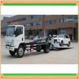 carrocería plana del vehículo de recuperación de la avería de portador de coche de 4X2 Isuzu 5tons