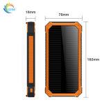 Carabiner를 가진 방수 Portable 10000mAh 태양 에너지 은행