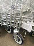 Carro da plataforma do Handcart do armazenamento do trole do armazém