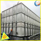 GRP Réservoir de stockage de l'eau de coupe avec certificat WRAS