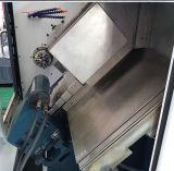 선반 기계를 가공하는 Tailstock 유형 기울기 침대 CNC 수평한 선반 CNC 샤프트