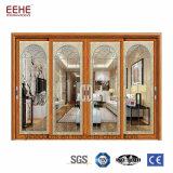 Prova sana lustrata doppio di alluminio dei portelli di disegno moderno per edificio residenziale