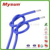 Fio elétrico do único silicone padrão do UL Mysun do núcleo