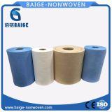 Rullo non tessuto stampato del tessuto di PP/Woodpulp