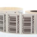 Impresión de la etiqueta engomada del número de serie del precio bajo