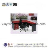 나무로 되는 가구 (1328#)를 위한 L 모양 지원실 책상