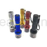 Elektrischer Taschenlampen-Entwurfs-Kräuterschleifer für Tabak-en gros rauchen (ES-GD-033)