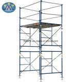 Ladder van de Stap van de Legering van de steiger de Lichtgewicht Vouwende Snelle