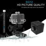 Sq12 HD 1080P de vigilancia de la cámara oculta Mini DVR DV CAM Cámara de visión nocturna