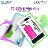 MOD 2017 della sigaretta di Seego Tc-50W & re elettronici Herbal Vaporizer di Vhit