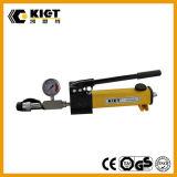 2017 Kiet acero la bomba hidráulica manual coincide con el cilindro hidráulico