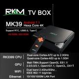 Rk3399 Android TV Box avec USB 3.0 et le type C