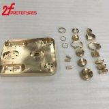 Parti d'ottone di CNC della Parte-Fabbrica del tornio di CNC del metallo di alta precisione