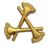 昇進のギフトの金属の柔らかいエナメル手の形の折りえりPin (W-41)