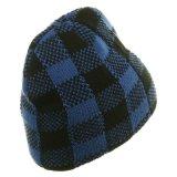 高品質の多彩な冬のニットの袖口の帽子の帽子