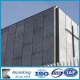 Piatti di parete di alluminio della gomma piuma della parete della gomma piuma del metallo
