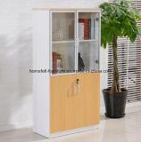 ファイルキャビネットの調節可能な木のオフィスの本箱