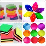 De Kleuren van de Gradiënt van het Pigment van het neon, het Fluorescente AcrylPoeder van de Spijker
