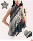100% полиэстер шелковые шарфы с цифровой печати для весной и осенью сезоны 180*70см
