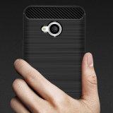 Aufgetragene Zeile Telefon-Kästen der Kohlenstoff-Faser-TPU für HTC U11 das Leben