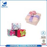 Boîte en carton carrée de couleur de qualité