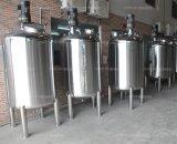 化粧品またはアジテータタンクのためのステンレス鋼の記憶の混合タンク