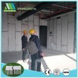 Painéis de sanduíche do cimento do EPS dos materiais de construção/placas para a parede de divisória